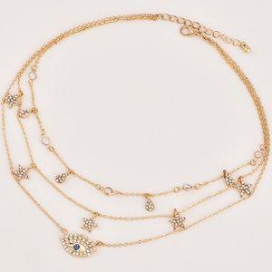 Jewelry - 🆕 Evil eye layered necklace